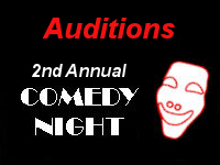 Comedy Night Auditions